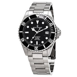 Link to Revue Thommen Men's 17571.2137 'Divers' Black Dial Stainless Steel Swiss Automatic Watch Similar Items in Men's Watches