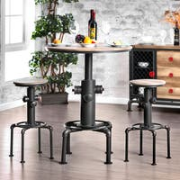 Carbon Loft Horstmann Protector Hydrant Inspired Metal Bar Height Round Table