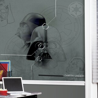 Star Wars Darth Vadar Prepasted Mural 6' x 6' - Ultra-strippable