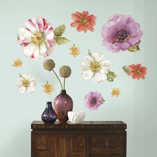 Roommates Lisa Audit Blossom Giant Peel-and-stick Wall Decals