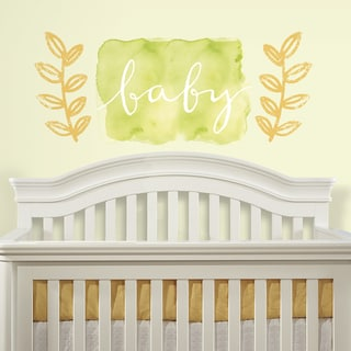 Kathy Davis Baby Watercolor Peel and Stick Giant Wall Decals