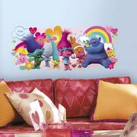 Roommates 'Trolls' Movie Vinyl Giant Peel-and-stick Wall Decals