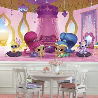 Shimmer and Shine Genie Palace' Multicolored Wall Mural