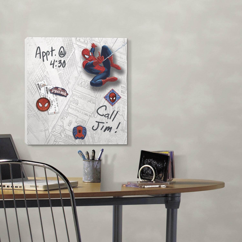 RoomMates Ultimate Spiderman Canvas Wall Art (Multi, 1 ca...