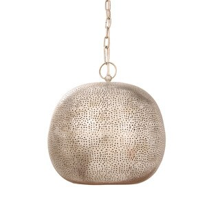 Austin Allen & Company Bohemian Style 1-light Weather Nickel Pendant