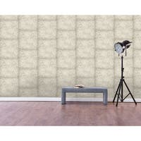 Cement Peel-and-Stick Wall Decor
