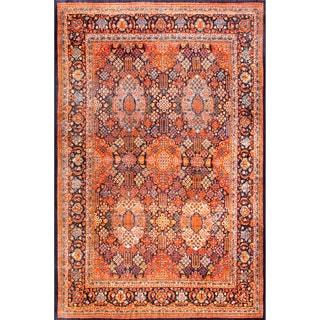 nuLOOM Traditional Vintage Fancy Orange Rug (7'10 x 9'10)