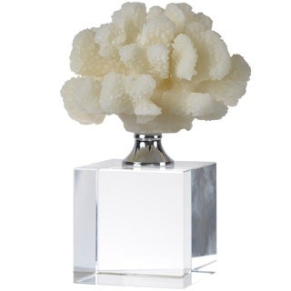 Coral White Resin Table Decor