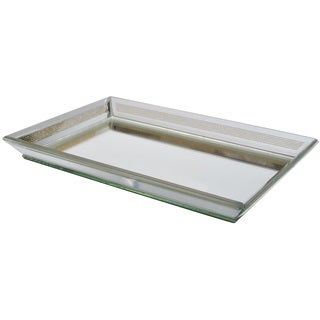 Georgette Glass Mirror Tray