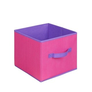Pink and Purple Collapsible Storage Cube (Set of 3)