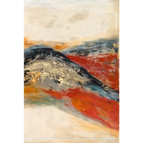 Marmont Hill - 'Entwine II' Painting Print on Wrapped Canvas