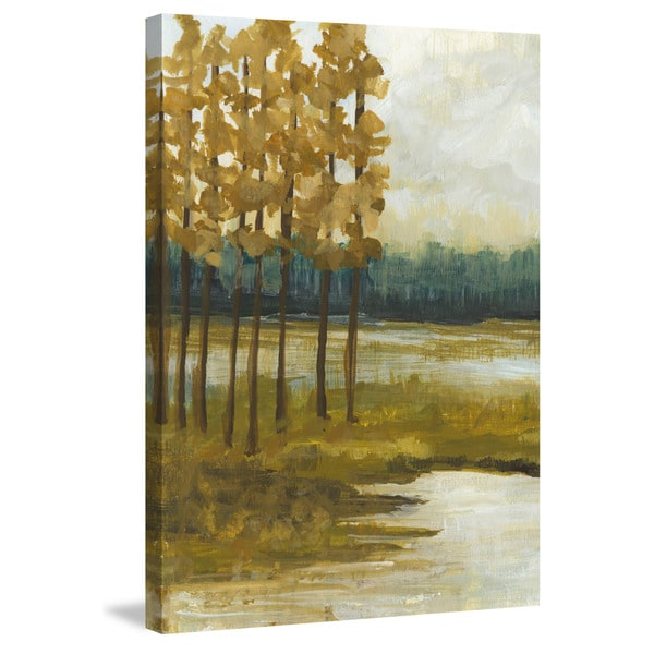 Marmont Hill - 'Etoile I' Painting Print on Wrapped Canvas - Multi-color