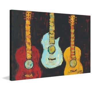 Marmont Hill - 'Pick Me I' Painting Print on Wrapped Canvas - Multi-color