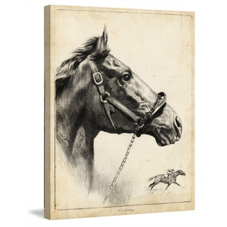 Marmont Hill - 'Whirlaway' Painting Print on Wrapped Canvas
