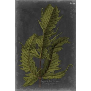 Marmont Hill - 'Foliage Dramatique I' Painting Print on Wrapped Canvas