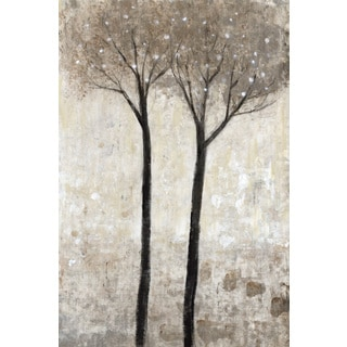 Marmont Hill - 'Tall Trees Bloom' Painting Print on Wrapped Canvas