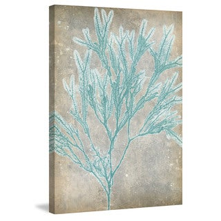 Marmont Hill - 'Spa Seaweed I' Painting Print on Wrapped Canvas