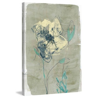 Marmont Hill - 'Floral Vignette IV' Painting Print on Wrapped Canvas