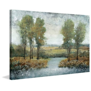 Marmont Hill - Handmade Stream Side II Print on Wrapped Canvas