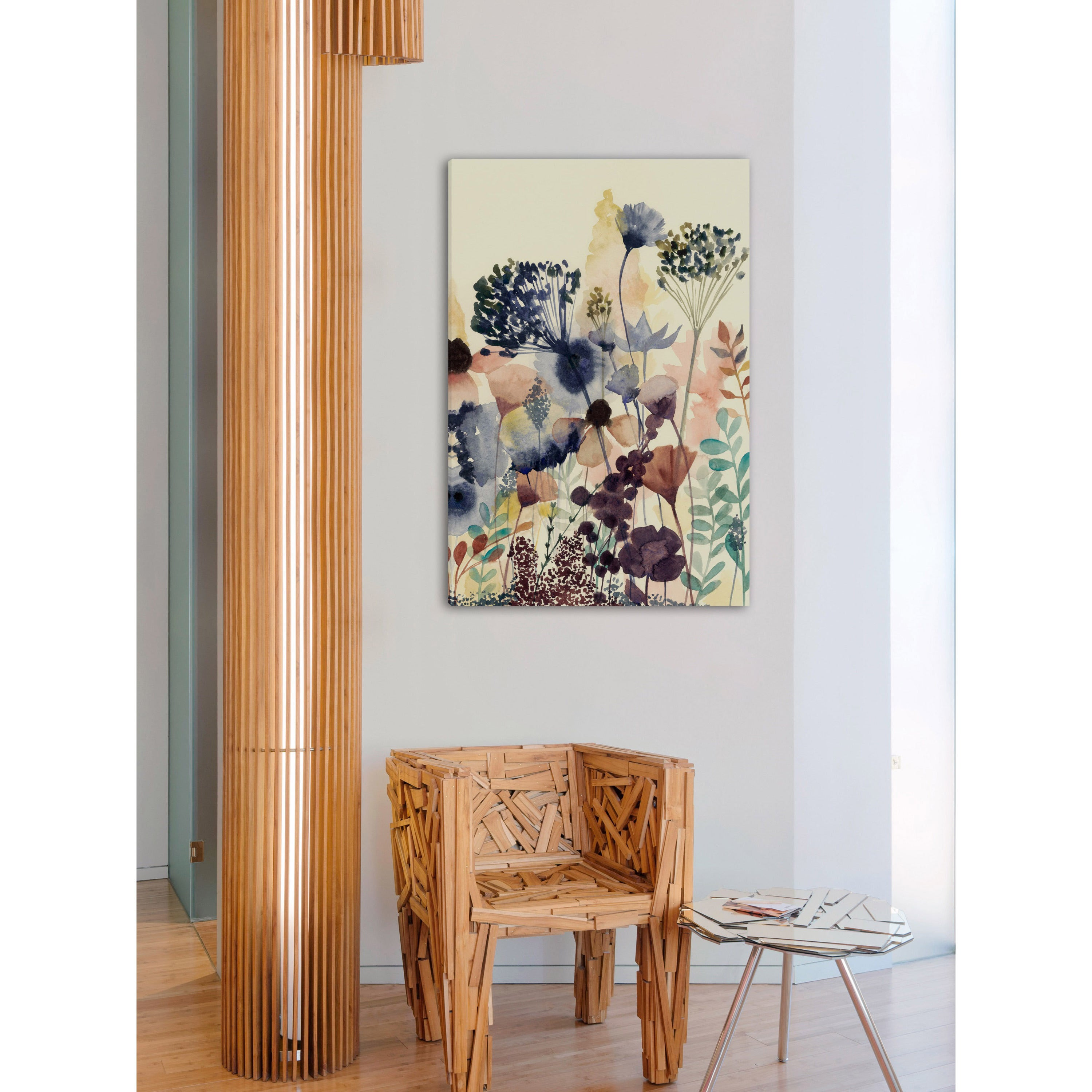 Marmont Hill Handmade Sundry Blossoms Ii Print On Wrapped Canvas Overstock 13028565