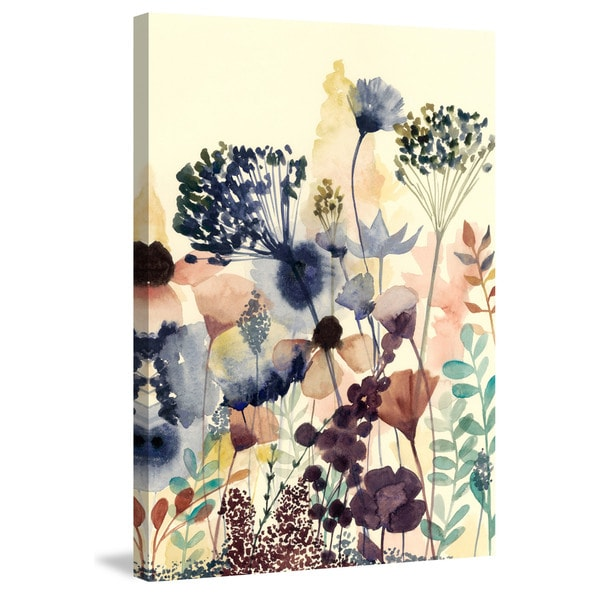 Marmont Hill - 'Sundry Blossoms II' Painting Print on Wrapped Canvas - Multi-color