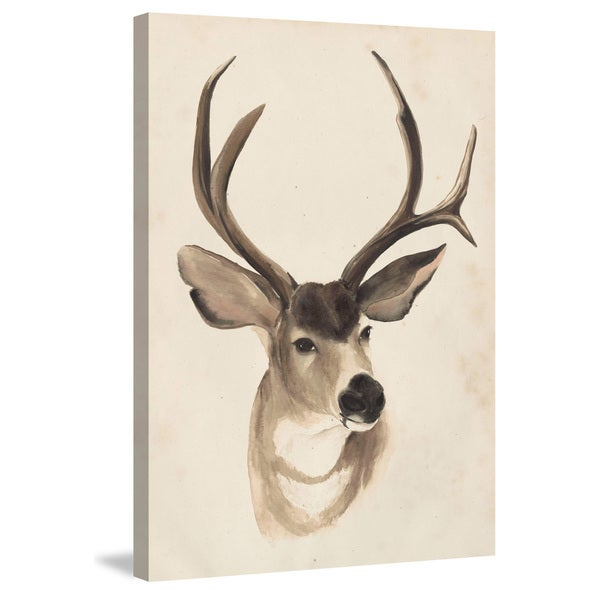 Marmont Hill - 'Animal Study II' Painting Print on Wrapped Canvas