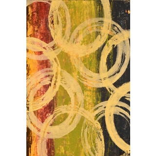 Marmont Hill - 'Rings of Engagement I' Painting Print on Wrapped Canvas