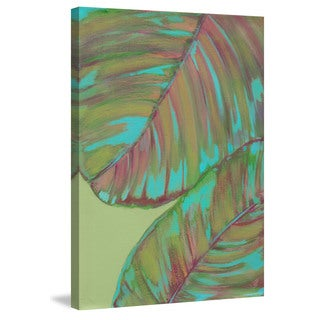 Marmont Hill - 'Kona Garden III' Painting Print on Wrapped Canvas