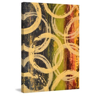 Marmont Hill - 'Rings of Engagement II' Painting Print on Wrapped Canvas