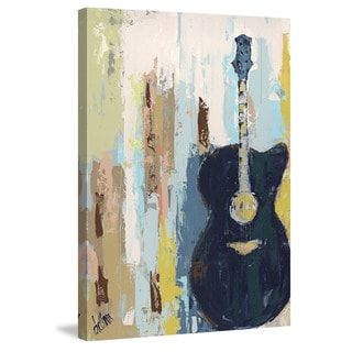 Marmont Hill - 'Bluebird Cafe II' Painting Print on Wrapped Canvas