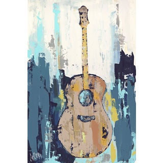 Marmont Hill - 'Bluebird Cafe I' Painting Print on Wrapped Canvas