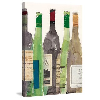 Marmont Hill - 'Dinner Party I' Painting Print on Wrapped Canvas - Multi-color