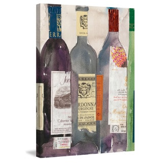 Marmont Hill - 'Dinner Party III' Painting Print on Wrapped Canvas