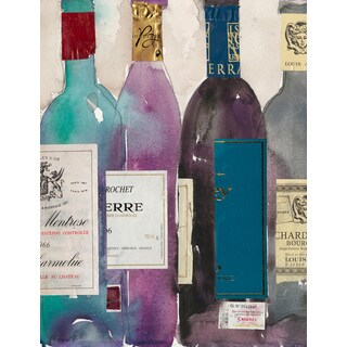 Marmont Hill - 'Dinner Party II' Painting Print on Wrapped Canvas - Multi-color