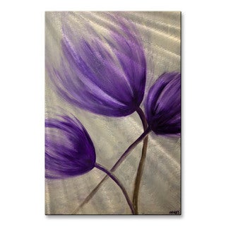 Osnat 'Blossom 5' Metal Wall Art