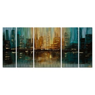 Osnat 'The Capital' Metal Wall Art