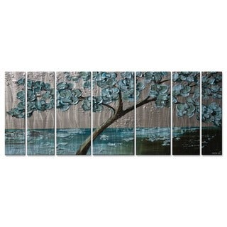 All My Walls Osnat 'Flowering Tree' Metal Wall Art