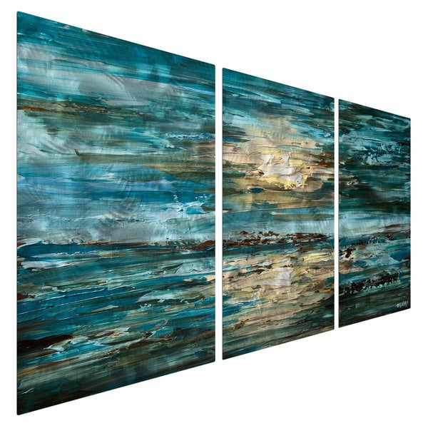 Shop The Sea Osnat Metal Wall Art - On Sale - Free Shipping Today ...
