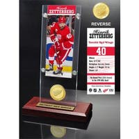 Henrick Zetterberg Ticket & Bronze Coin Acrylic Desk Top