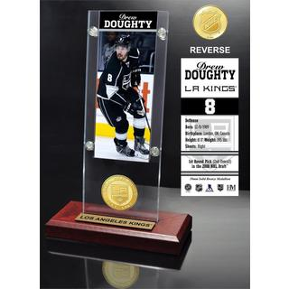 Drew Doughty Ticket & Bronze Coin Acrylic Desk Top