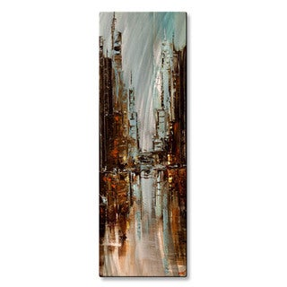 Osnat 'City Rush 4 ' Metal Wall Art