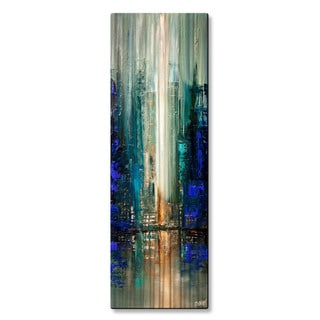 Osnat 'City Lights 7' Metal Wall Art