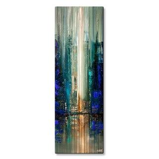 Osnat 'City Lights 7' Metal Wall Art