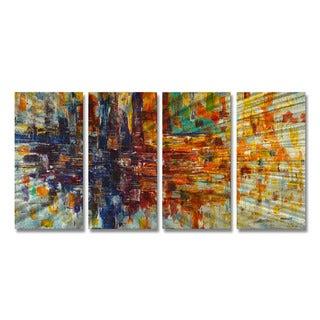 All My Walls Steve Heriot 'Pause' Metal Wall Art