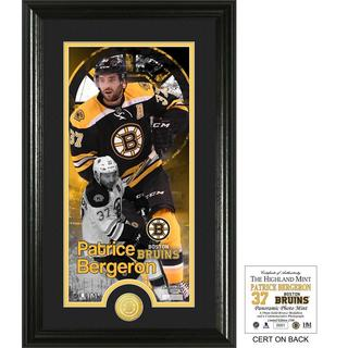 Patrice Bergeron Supreme Bronze Coin Photo Mint