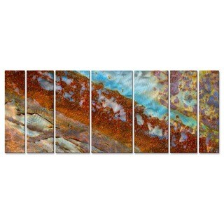 Jed Hansen 'Rust 2' Metal Wall Art