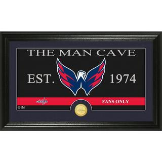 "Washington Capitals ""Man Cave"" Panoramic Bronze Coin Photo Mint"