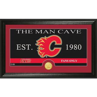 "Vancouver Canucks ""The Man Cave"" Bronze Coin Panoramic Photo Mint"