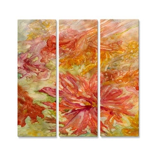 Rosie Brown 'Hello Hibiscus' Metal Wall Decor