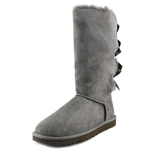 088b0585a48 Shop Ugg Australia Women's 'Bailey Bow Tall' Regular Suede Boots ...